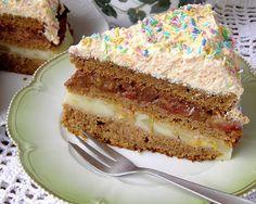 W Mojej Kuchni Lubię.. : wyborne ciasto marchewkowe z budyniami,owocami i m...