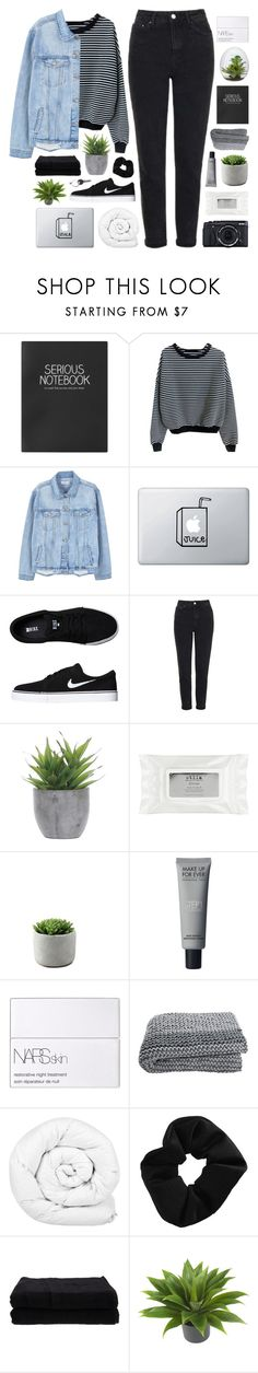 """""""IMOGEN"""" by feels-like-snow-in-september ❤ liked on Polyvore featuring Fujifilm, Topshop, MANGO, NIKE, Lux-Art Silks, Stila, NARS Cosmetics, Brinkhaus, Home Source International and Nearly Natural"""