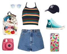"""""""Popsicle Stand"""" by sangiamoe on Polyvore featuring Glamorous, Converse, Marc Jacobs, Casetify and Hartford"""