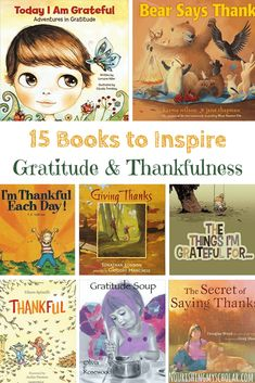 12 Books to Inspire Gratitude and Thankfulness: Looking for ways to teach gratitude to your kids? I'm sharing tips plus thankfulness and gratitude books to help you. Audio Books For Kids, Childrens Books, Teen Books, Teaching Kids, Kids Learning, Thanksgiving Books, Fall Books, Gratitude Book, Character Education