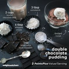 A yummy little dessert thats ready in just 10 minutes! #recipe #chocolate #weightwatchers