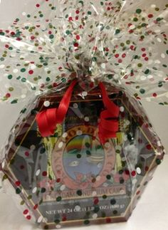 Kona Gold Rum Cake wrapped and ready for gift giving....perfect hostess gift!  www.hawaiisgiftbaskets.com