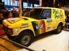 Range Rover V8 Paris-Dakar 1987