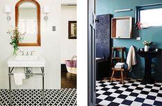 23 best Baños en Blanco y negro images on Pinterest | Black white ...