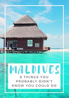 8 Unique Things To Do In The Maldives - Girl Tweets World Maldives Villas, Maldives Vacation, Maldives Beach, Maldives Honeymoon, Visit Maldives, Maldives Resort, The Maldives, Maldives Wedding, Honeymoon Places