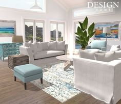 Design Home App, House Design, Aurora Design, Outdoor Furniture Sets, Outdoor Decor, Design Projects, Interior Design, Home Decor, Nest Design