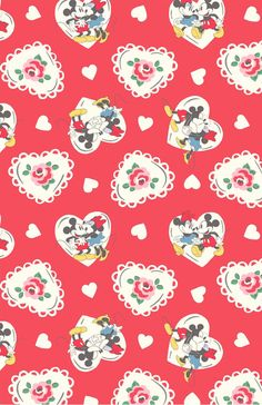 Mickey Hearts Minnie A And Love Story In Print Form B With