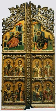 Царские врата Faith Of Our Fathers, Stairs And Doors, Church Interior, Byzantine Art, 2d Design, Early Christian, Triptych, Religious Art, Digital Collage