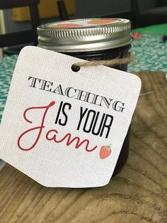 Kate's Kitchen: Teacher Gift