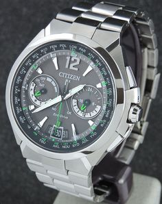 Satellite controlled watch for precision...