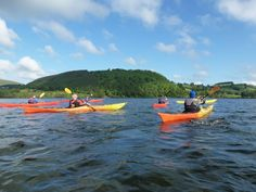 Sea kayaking in the Lake District on Ullswater lake with Distant Horizons Canoeing, Kayaking, Georgian Mansion, Canoe And Kayak, Steamers, Lake District, Sport, Days Out, Outdoor Activities