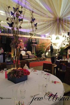 <p>For bigger groups, We boost our glass walled greenhouse hall for wedding reception, debuts, seminars, birthdays and other special occassions. Greenhouse hall can accommodate 300-400pax. Photo Credits: Ms Eljay B. Ursua</p> Function Hall, Baguio City, Event Venues, Wedding Reception, Ms, Wedding Planning, Birthdays, Restaurant, Table Decorations