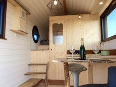 Huttopie Tiny House on Wheels