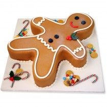 16 Trendy cake decorating ideas for men christmas gingerbread Christmas Themed Cake, Christmas Cakes, Xmas Cakes, Christmas Décor, Christmas Ideas, Christmas Sweets, Holiday Cakes, Christmas Goodies, Holiday Desserts
