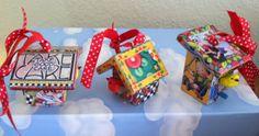 Miniature Bird Houses - Vintage Mary Engelbreit - Made to Order