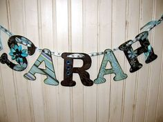 Modge podging letters! My craft idea for all the babies coming into my life in the next few months!