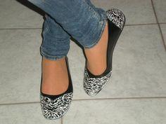 Pimp your shoes : Zebra