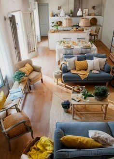 Hold current with the newest small living room ideas (chic & modern). Discover excellent ways to get fashionable design even if you have a small living room. Living Room Scandinavian, Cozy Living Rooms, Home Living Room, Apartment Living, Living Room Decor, Cozy Apartment, Dining Room, Target Living Room, Earthy Living Room
