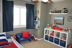 cool 99+ Boys Baseball Themed Bedroom Ideas http://www.99architecture.com/2017/02/16/99-boys-baseball-themed-bedroom-ideas/