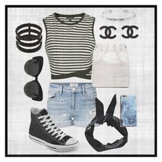 """""""[SADNESS]"""" by allisjess ❤ liked on Polyvore featuring Topshop, Frame Denim, Converse, Boohoo, Proenza Schouler, Repossi and Disney"""