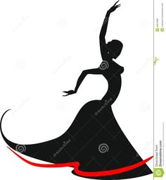 Silhouette Of Flamenco Dancer - Download From Over 27 Million High Quality Stock Photos, Images, Vectors. Sign up for FREE today. Image: 33615580