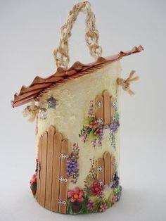 Telha Decorada Peq-Paulistinha c/telhado