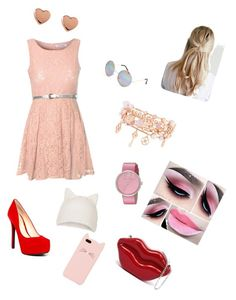 """""""kawaii"""" by sofashion-c1234538 ❤ liked on Polyvore featuring moda, Glamorous, Jessica Simpson, Topshop, Kate Spade, Marc by Marc Jacobs, Henri Bendel, Ted Baker y Full Tilt"""
