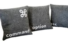 Geek pillows for Mac lovers ...