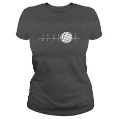 VOLLEYBALL HEARTBEAT t shirts and hoodies