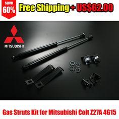 Gas Struts Kit for Mitsubishi Colt Z27A 4G15 – Autobahn88 – DAMP095-Free Shipping
