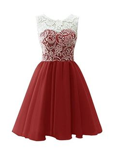 Snowskite Women's Short Tulle Lace Homecoming Prom Dress Burgundy 0 Snowskite http://www.amazon.com/dp/B011IU9GG4/ref=cm_sw_r_pi_dp_CQk5vb18CVFPF