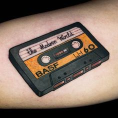 Cassette Tape tattoo by @miguelcomintattooer at No Land Tattoo Parlour Valencia Spain #miguelcomintattooer #miguelcomin #nolandtattooparlour #valencia #spain #cassette #cassettetape #tape #cassettetattoo #mixtape #themodernworld #cassettetapetattoo #tapetattoo #mixtapetattoo #themodernworldtattoo #tattoo #tattoos #tattoosnob.
