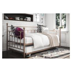 Manila Twin Daybed with Trundle Millennial Pink - Dorel Home Products - image 12 of 13