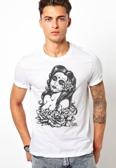 kultur unisex shirt sizes adult small- adult xxl printed on Canvas, alternative, american apparel premium brand!
