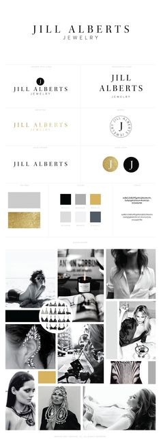 Jill Alberts Logo Design + Brand Identity