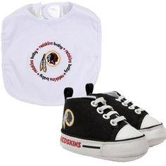 Washington Redskins NFL Infant Bib and Shoe Gift Set