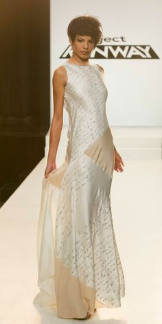 project runway dress