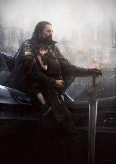 """Final Fantasy XV"" art/""Final Fantasy XV - Dawn"" trailer"