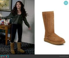 Haley Dunphy Fashion on Modern Family Modern Family Sarah Hyland, Modern Family Haley, Modern Family Episodes, Fashion Tv, Fashion Outfits, Fashion Ideas, Ugg Classic Tall, Slipper Boots, Other Outfits