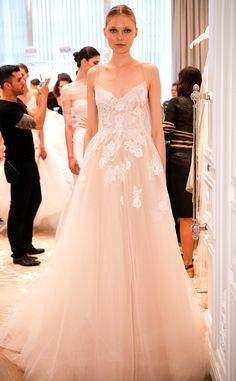 Monique Lhuillier from Best Looks From the Spring 2016 Bridal Collections | E! Online
