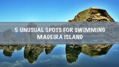 From natural volcanic swimming pools, black sand beaches and dolphins, swimming in Madeira Island is definitely more interesting and much more exciting! Top Greek Islands, Paragliding, Spain And Portugal, Black Sand, Beach Pool, Island Life, Places To Travel, Swimming Pools, Sailing
