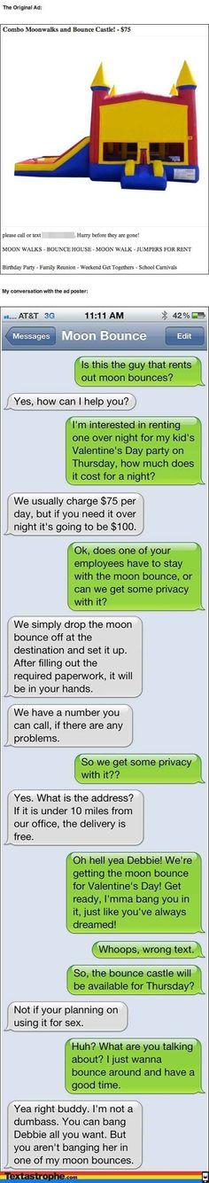 The Moon Bounce