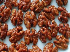 Ah Nuts! Mrs Prager's Caramelized Walnuts Made less than a mile away! Glazed Walnuts, Candied Walnuts, Pistachios, Pecans, Almonds, Honey Candy, Chef Blog, Saveur, Gastronomia