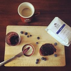 #Ethiopia #Sidamo coffee has a magnificent yet delicate flavor of #blueberry #jam and #honey sweetness! It is a #morningpleasure! www.ticoroasters.com/coffee #homemadejam #organic #specialtycoffee #handcrafted #campbellcoffee #breakfast