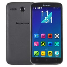 [$46.11] Lenovo A399, 5.0 inch TFT IPS Screen Android OS 4.4 Smart Phone, MTK6582 Quad Core 1.3GHz, RAM: 512MB, ROM: 4GB, Support Bluetooth, WiFi, Dual SIM Dual Standby, GSM & WCDMA(Black)