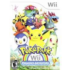 PokePark: Pikachu's Adventure (Wii) this will be my game