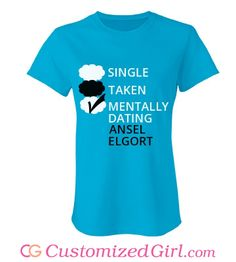 18af7243 custom tees from Customized Girl #thefaultinourstars #anselelgort Customized  Girl, The Fault In Our