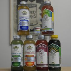 We carry GTs Synergy Kombucha drinks. Yummy and good for you!