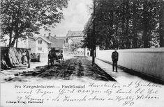 Østfold fylke Fredrikstad Fredriksstad. Færgestedsveien. Utg Østbergs Forlag Fredrikstad brukt.1903.