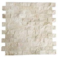 Bej Kırmızı Damar 2.5X5 Fileli Patlatma Taş  www.tasdekorcum.com #dekor #patlatmatas #mozaik #dogaltas#naturalstonemosaic #naturalstone  Natural Stone Mosaic Natural Stone Wall Natural Stone Mosaic Subway Wall Tile Fileli Patlatma Taş Doğal Taş Patlatma Mozaik